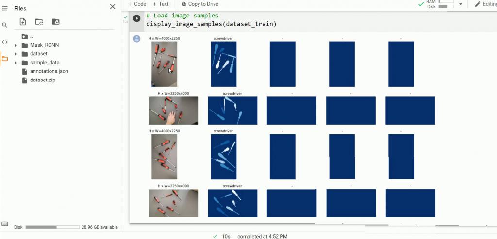 Load image samples