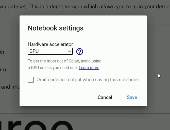 Google Colab GPU